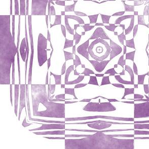 Geo Floral Wine Design, L