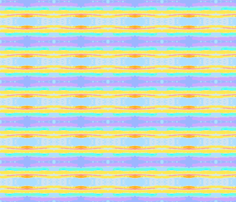 Watercolor Stripes fabric by robin_rice on Spoonflower - custom fabric