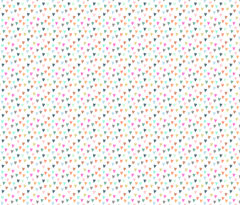 pastel hearts fabric by katherinecodega on Spoonflower - custom fabric