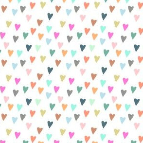 Hearts Fabric Wallpaper Gift Wrap
