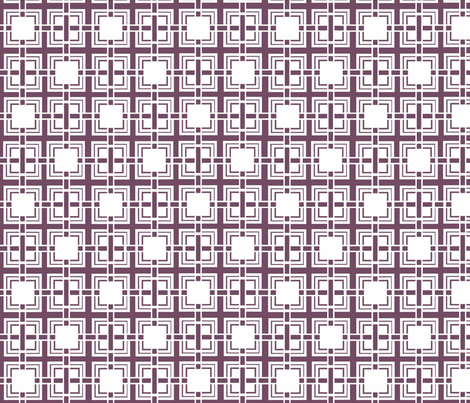 Aubergine Weave fabric by designedtoat on Spoonflower - custom fabric