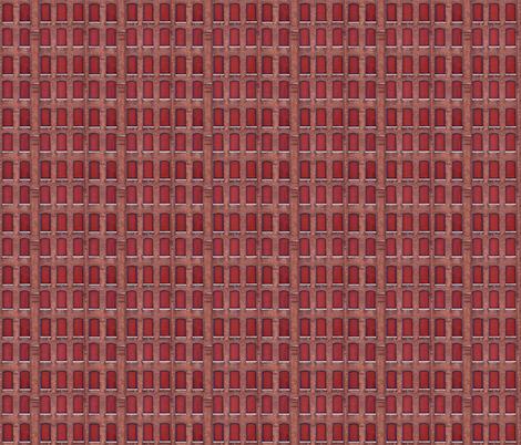 Grid Plan Redux fabric by relative_of_otis on Spoonflower - custom fabric