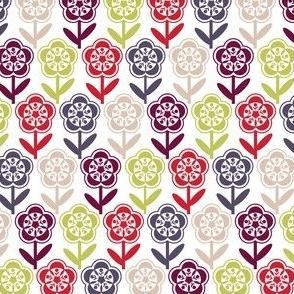 Geometric Flower - Multi