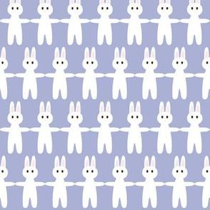 bunny pale lavender