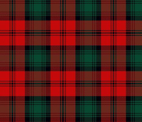 3rd Third Dr Jon Pertwee Inverness cloak Tartan fabric by warmcanofcoke on Spoonflower - custom fabric