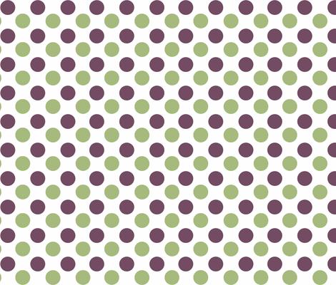 Polka Dot fabric by designedtoat on Spoonflower - custom fabric