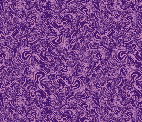 Dickiedoodle Big Purple fabric by lovekittypink on Spoonflower - custom fabric
