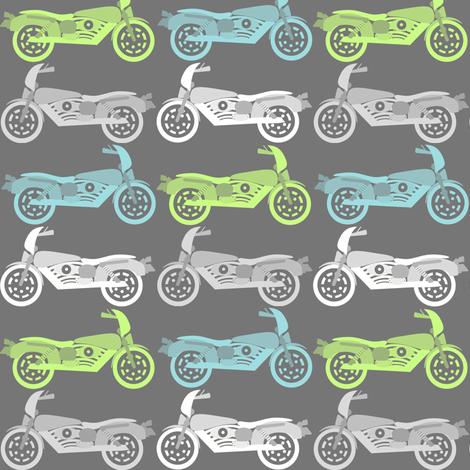 motos fabric by natitys on Spoonflower - custom fabric