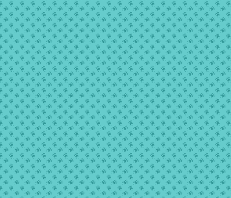 Cat_Trax_-_Teal fabric by glimmericks on Spoonflower - custom fabric