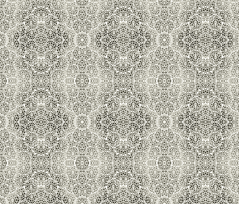 lacey_dream - charcoal fabric by glimmericks on Spoonflower - custom fabric