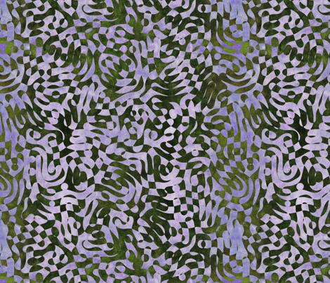 Sky Lace Too fabric by feebeedee on Spoonflower - custom fabric