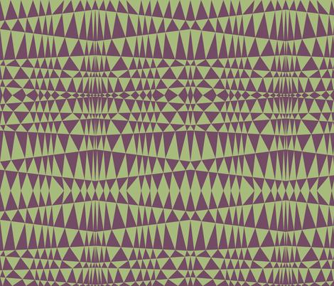 Geometriangles fabric by feebeedee on Spoonflower - custom fabric