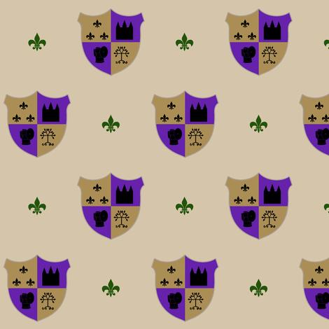Spor Family Crest fabric by evenspor on Spoonflower - custom fabric