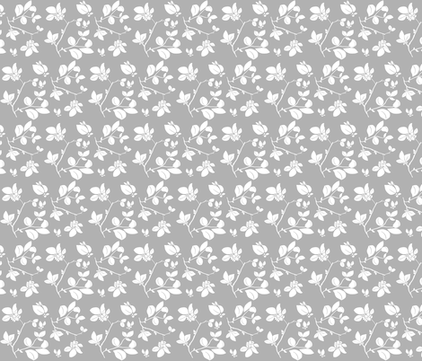 Blooming fabric by biancagreen on Spoonflower - custom fabric