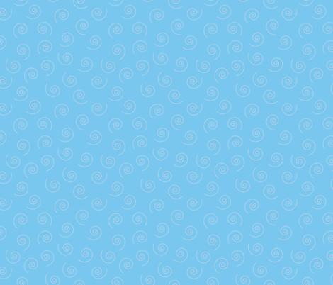 Blue_Swirls fabric by donnamarie on Spoonflower - custom fabric