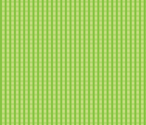 Green_Gingham fabric by donnamarie on Spoonflower - custom fabric