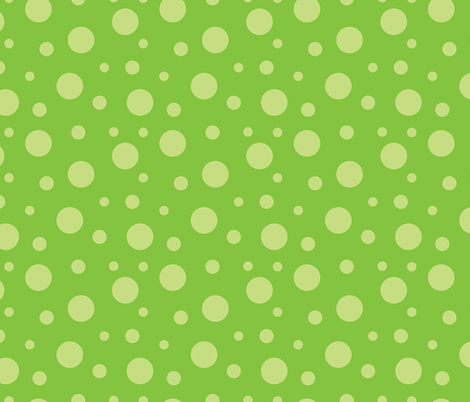Large_Green_Dots fabric by donnamarie on Spoonflower - custom fabric
