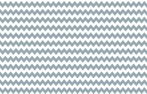 Think Chevron Meditative Blue fabric by liskadesign on Spoonflower - custom fabric