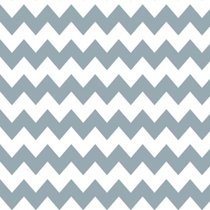 Think Chevron Meditative Blue