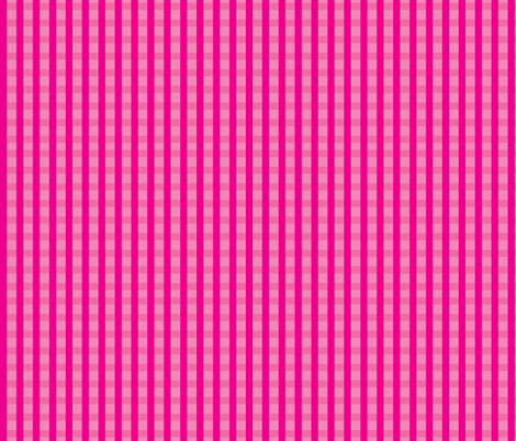 Pink_Gingham fabric by donnamarie on Spoonflower - custom fabric