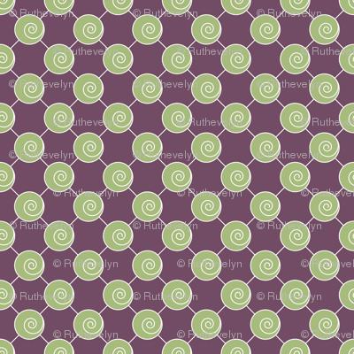 Green Swirls
