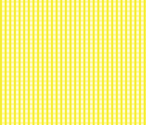 Yellow_Gingham fabric by donnamarie on Spoonflower - custom fabric