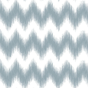 Distorted Chevron Meditative Blue