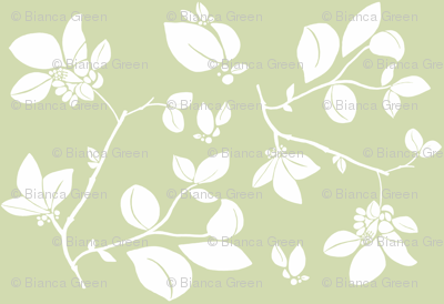 Blooming (green)