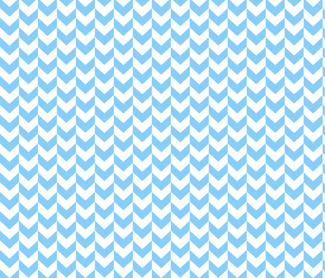 White and blue arrows. fabric by pininkie on Spoonflower - custom fabric