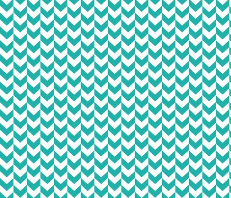 Rrcircus_elephant_chevron_white_and_teal_shop_preview