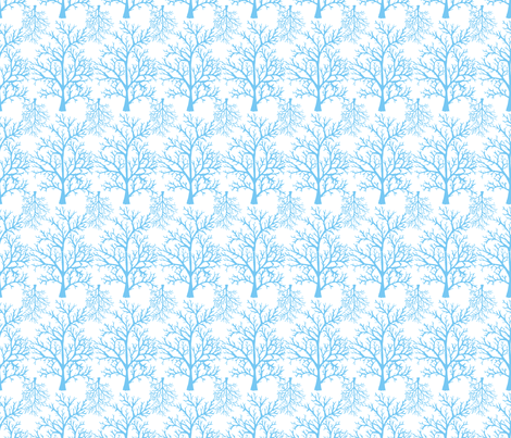 Trees fabric by juliapaigedesigns on Spoonflower - custom fabric