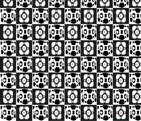 portal fabric by geekinspirations on Spoonflower - custom fabric