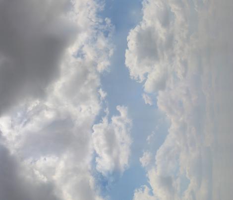 Blue sky fabric by j-andrew on Spoonflower - custom fabric