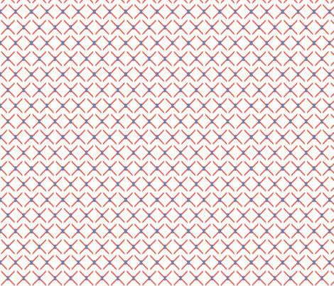 Crisscross fabric by lana_gordon_rast_ on Spoonflower - custom fabric