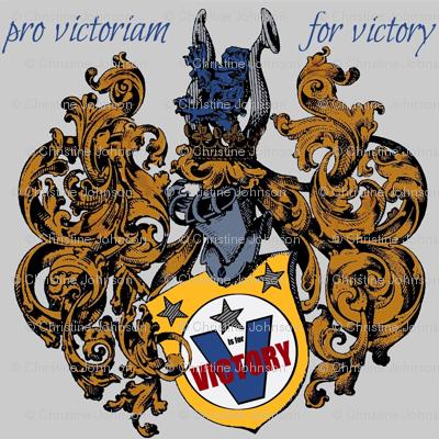 a crest pro victoriam
