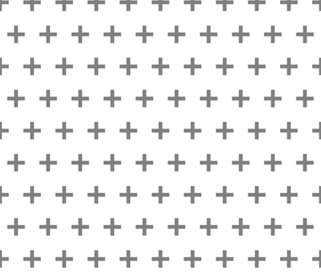 swiss cross // grey plus  fabric by andrea_lauren on Spoonflower - custom fabric