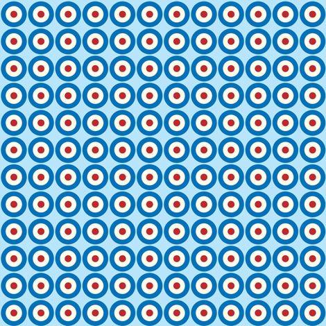 Mod Dots fabric by ebygomm on Spoonflower - custom fabric