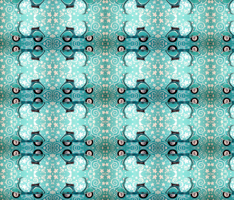 Buon Viaggio fabric by marlicat on Spoonflower - custom fabric