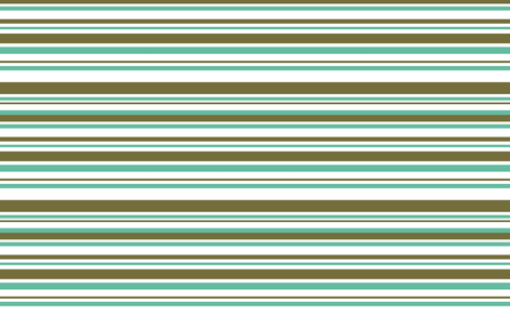 STRIPES (green turquois) fabric by biancagreen on Spoonflower - custom fabric