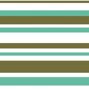 STRIPES (green turquois)