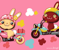Rrfunny-bunny-motorcycle-roze_comment_170483_thumb
