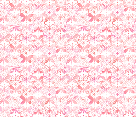 La Vie en Rose fabric by kayajoy on Spoonflower - custom fabric