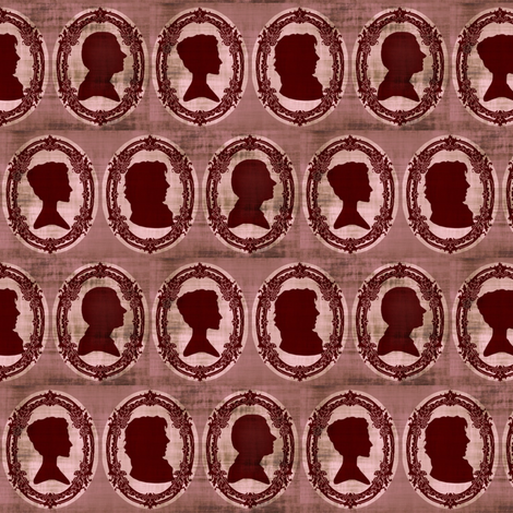 Vatican Cameos fabric by marchhare on Spoonflower - custom fabric