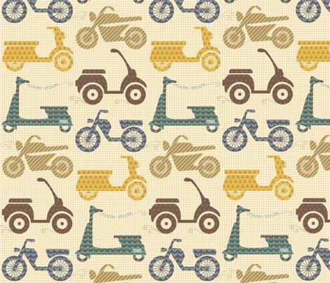 vroom - vroom... fabric by natasha_k_ on Spoonflower - custom fabric