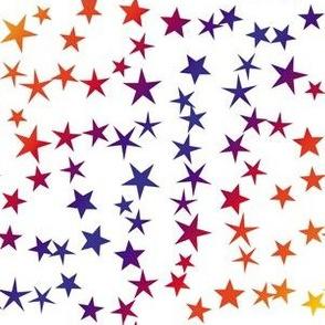 Red Blue Stars