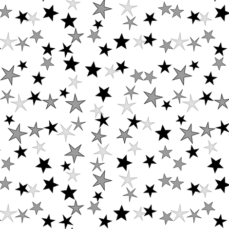 Simple Stars 2 fabric by animotaxis on Spoonflower - custom fabric