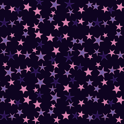 Simple Stars 7 fabric by animotaxis on Spoonflower - custom fabric