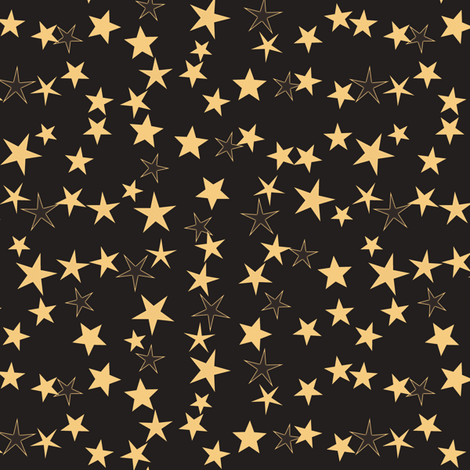 Simple Stars 9 fabric by animotaxis on Spoonflower - custom fabric