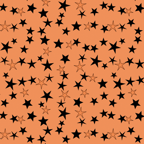 Simple Stars 13 fabric by animotaxis on Spoonflower - custom fabric