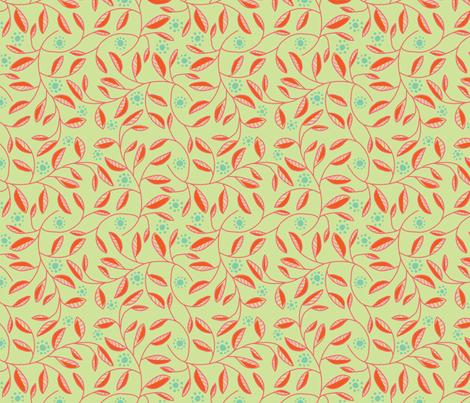jugendstill-13 fabric by studiojelien on Spoonflower - custom fabric